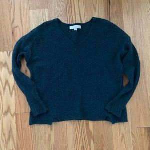 LOFT Teal Wool Sweater